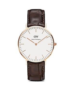 daniel wellington daniel wellington classic york watch 36mm