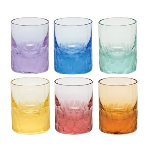 Moser Pebbles Shot Glass, Set of 6