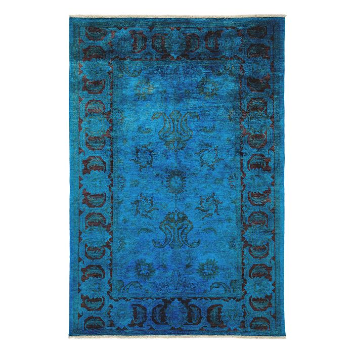Solo Rugs - Adina Collection Oriental Rug, 6' x 9'