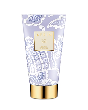 What It Is: Richly luxurious and deeply replenishing, Aerin\\\'s Lilac Path Body Cream drenches skin with healing moisture to soften and help revitalize the look of skin. Skin appears refreshed and delicately scented. Key Notes: Lilac, galbanum, jasmine, angelica, orange flower About The Fragrance: Lilac Path captures the spirit of Spring and makes it last. -Aerin Lilac Path weaves a delicate story of crisp greens, rich blooms and delicate petals. Evocative Lilac infuses the scent with inviting dep