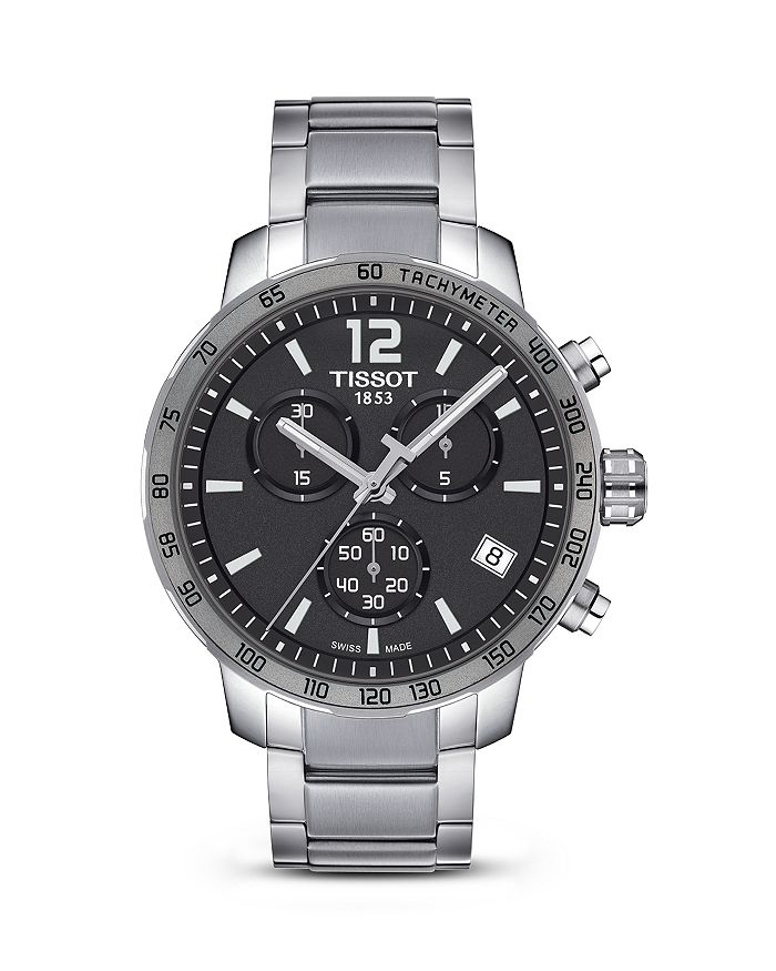 Tissot - Quickster Anthracite Dial Men's Watch, 42mm