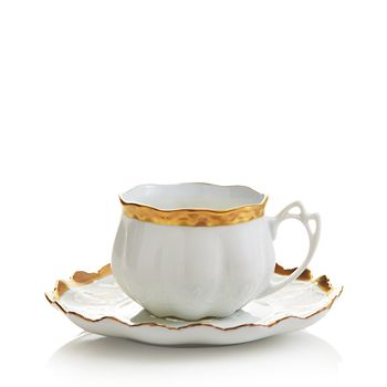Anna Weatherley - Anna's Golden Patina Teacup & Saucer