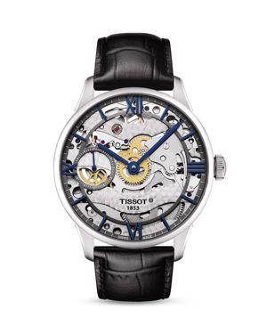Tissot Chemin Des Tourelles Squelette Watch, 42mm
