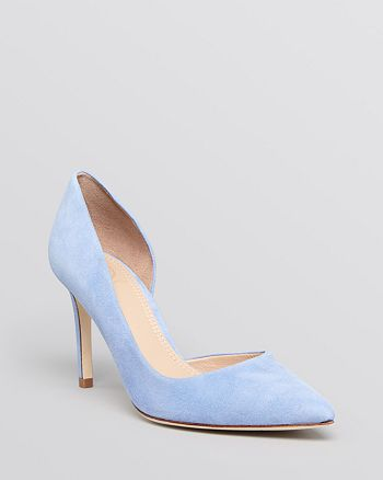 Tory Burch - Pointed Toe D'Orsay Pumps - Classic High-Heel