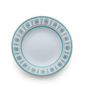 Richard Ginori Palmette Rimmed Soup Plate