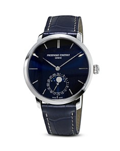 Frederique Constant Manufacture Slimline Moonphase Watch, 42mm - Bloomingdale's_0