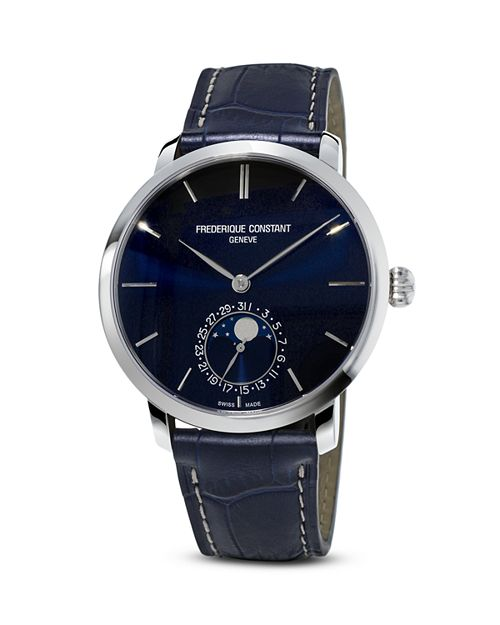 Frederique Constant - Manufacture Slimline Moonphase Watch, 42mm