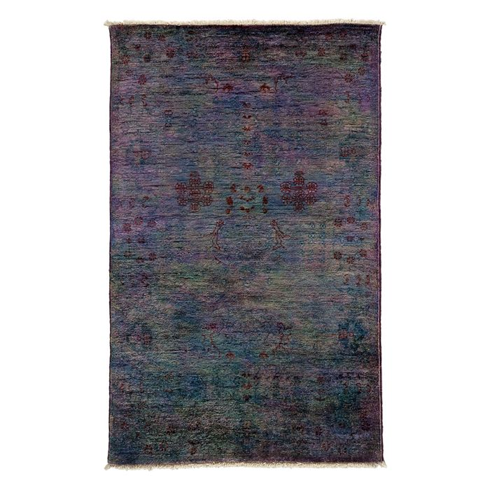 "Solo Rugs - Adina Collection Oriental Rug, 3'1"" x 4'10"""