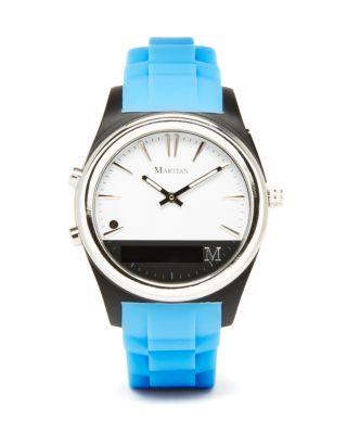 Martian Notifier Smartwatch, 43mm Men - Bloomingdale's