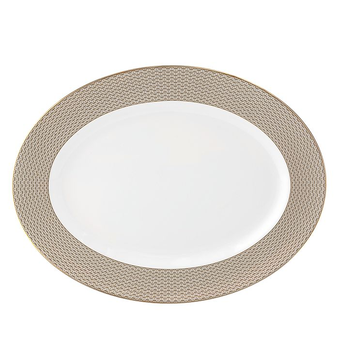 Waterford - Lismore Diamond Oval Platter