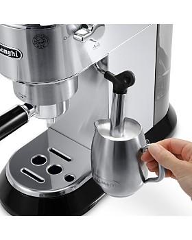 "De'Longhi - Dedica Stainless Steel 6"" Mini Pump Espresso/Cappuccino Maker"
