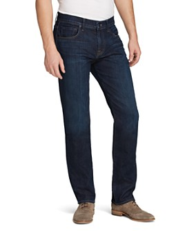 7 For All Mankind - Luxe Performance Slim Straight Fit Jeans in North Pacific