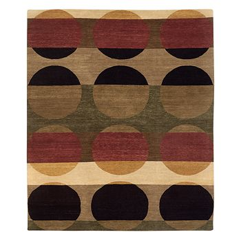 Tufenkian Artisan Carpets - Total Eclipse Orchard Area Rug, 6' x 6'