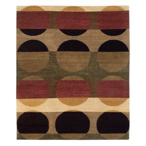 Tufenkian Artisan Carpets Total Eclipse Orchard Area Rug, 6' x 6'