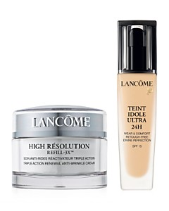 Lancôme - Perfect Pairs: High Résolution 3X Face SPF 15 & Teint Idole Ultra 24 Hour
