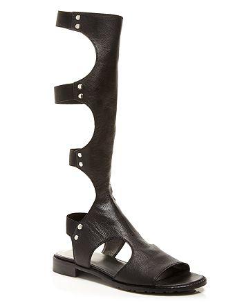 Stuart Weitzman - High Shaft Gladiator Sandals - Backview