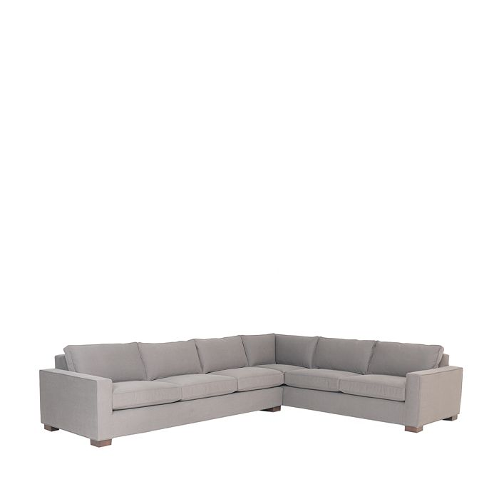 "Mitchell Gold Bob Williams - Carson 2-Piece Sectional, 134""L x 104""W x 32""H"