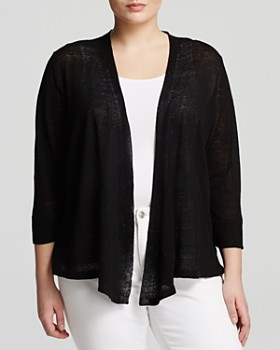 NIC and ZOE Plus - Open Front Cardigan