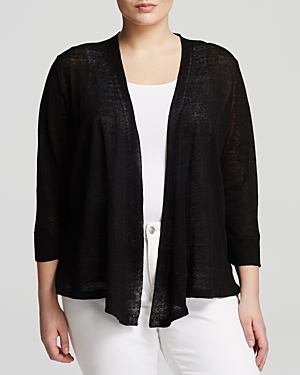 Nic+Zoe Plus Open Front Cardigan