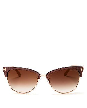 Tom Ford - Women's Fany Cat Eye Sunglasses, 59mm