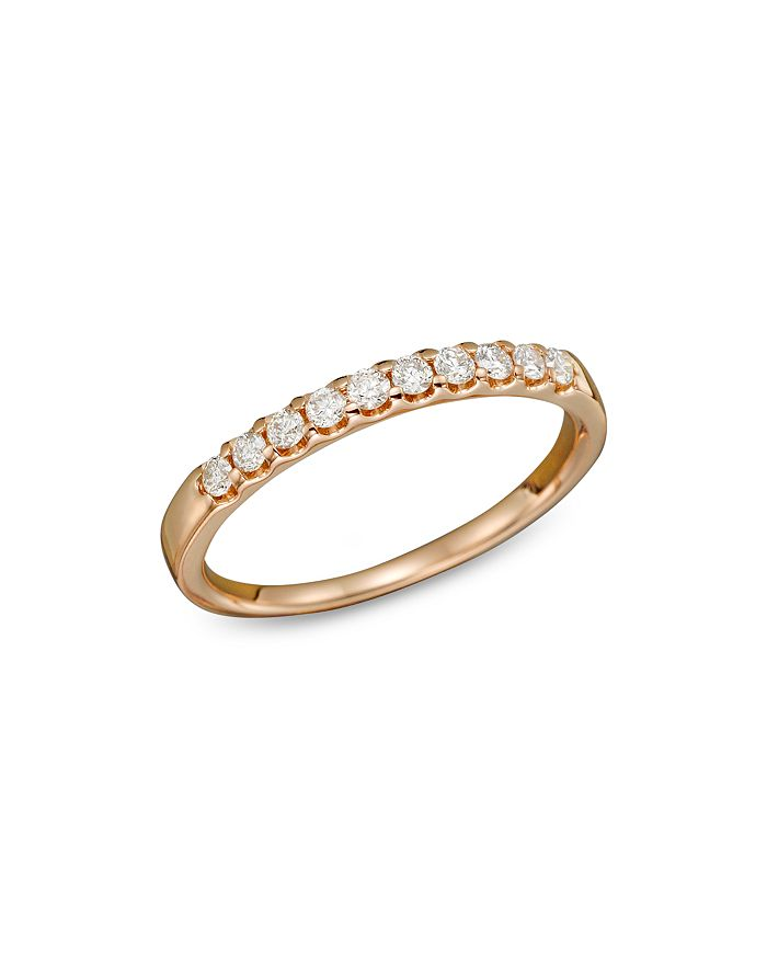 Bloomingdale's - Diamond Band Ring in 14K Rose Gold, .25 ct. t.w. - 100% Exclusive