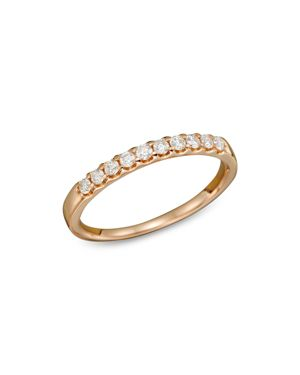 Diamond Band Ring in 14K Rose Gold, .25 ct. t.w.
