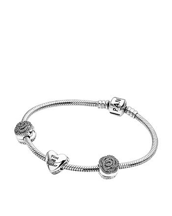9abfb02e6 Bracelet Set - Sterling Silver & Cubic Zirconia Bouquet of Love, Limited  Edition