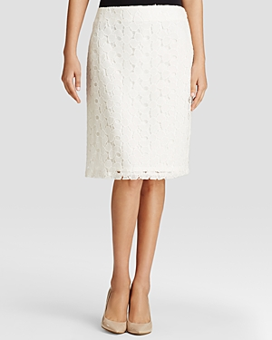 Calvin Klein Floral Lace Skirt