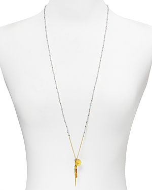 Chan Luu Beaded Pendant Necklace, 34