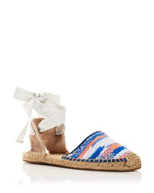 Soludos Espadrille Sandals - Malhia Kent Static Lace Up