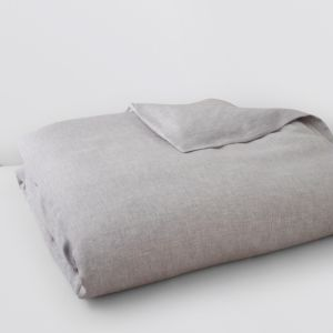 Matouk Terra Linen Twill Duvet Cover, Full/Queen