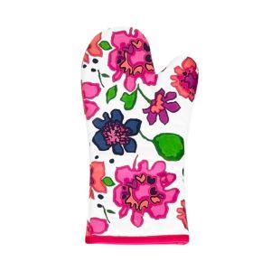 kate spade new york Festive Floral Printed Oven Mitt