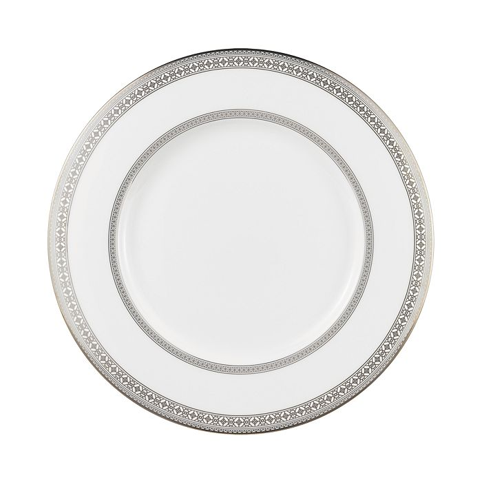 Prouna - Platinum Leaves Charger Plate