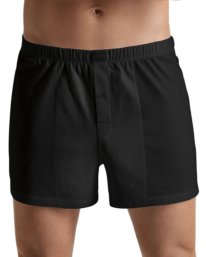 Hanro - Cotton Sporty Button Fly Boxers
