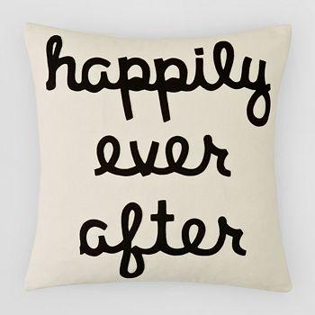 "Alexandra Ferguson - Happily Ever After Decorative Pillow, 16"" x 16"""