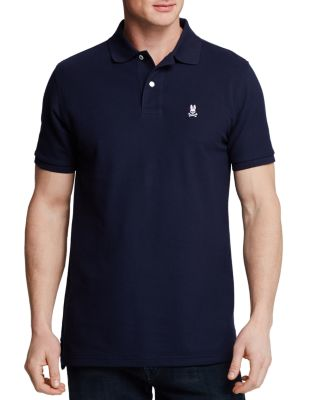 PSYCHO BUNNY Classic Polo - Regular Fit in Navy