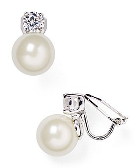 Ralph Lauren - Faux Pearl Clip-On Earrings