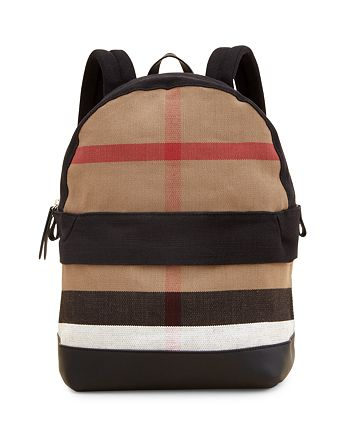 8a43cdc76a90 Burberry Kids  Check Backpack
