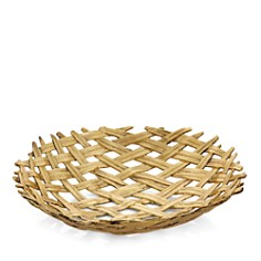 Michael Aram - Palm Centerpiece Shallow Bowl