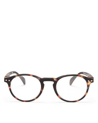 IZIPIZI Collection A Round Readers, 40Mm in Multi Tortoise