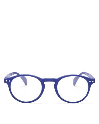 IZIPIZI Collection A Round Readers, 40Mm in Navy Blue