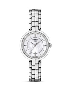 Tissot Flamingo Women's Quartz Watch with Mother of Pearl Dial, 26mm - Bloomingdale's_0
