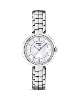 Tissot - Tissot Flamingo Women's Quartz Watch with Mother of Pearl Dial, 26mm