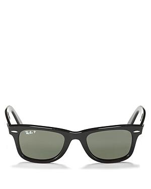 Ray-Ban Unisex Polarized Wayfarer Sunglasses, 50mm