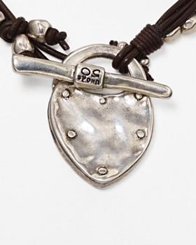 """Uno de 50 - The Secret Pendant Necklace, 14"""""""
