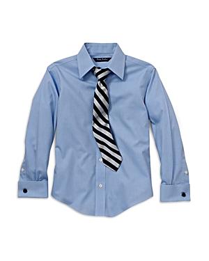Brooks Brothers Boys Solid Dress Shirt  Little Kid Big Kid