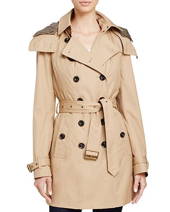 Burberry - Reymoore Hooded Cotton Trench Coat