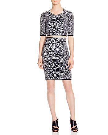BCBGMAXAZRIA - BCBGMAXAZARIA Top & Skirt - 100% Exclusive