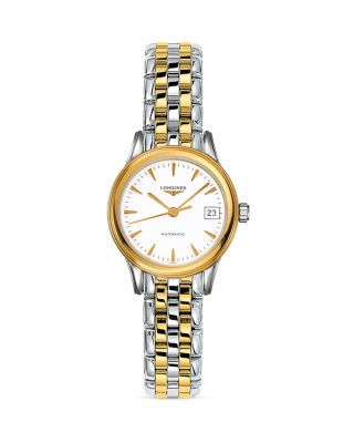 LONGINES Flagship Automatic Bracelet Watch, 26Mm in Silver/ White/ Gold