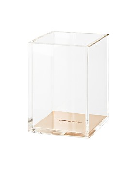 kate spade new york - Acrylic Pencil Cup, Gold